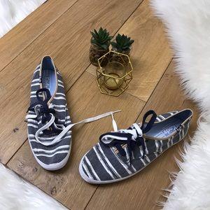 Keds Striped Canvas Shoes